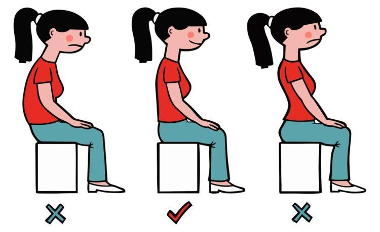 Una cattiva postura può privarti di una buona qualità della vita.