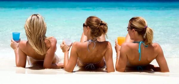 amiche spiaggia