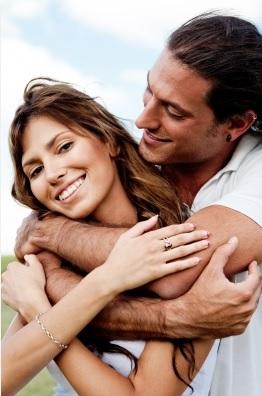 coppia giovane in love